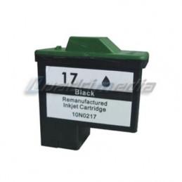 Lexmak N° 17 Black 10N0217E Compatible