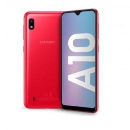 """SAMSUNG Galaxy A10 Rouge Smartphone 6.2"""" - 32 Go - 13 MP - Double SIM - vue recto verso"""