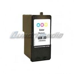 Lexmark N° 33 C,M,Y 18C0033E Compatible