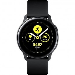 SAMSUNG Galaxy Watch Active Noir Montre connectée Cadran 40 mm - vue de dessus