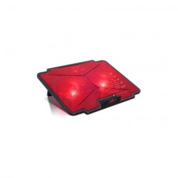 "SPIRIT OF GAMER AirBlade 100 Red Refroidisseur PC Portable 15.6"" - Double ventilateurs LED - Noir / Rouge"