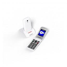 SWISSVOICE S24 Téléphone mobile débloqué 2G a clapet GSM pour séniors