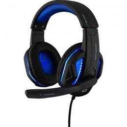 THE G-LAB KORP 150 Casque Gaming rétroéclairé - Jack 3.5 mm pour PC, PS4 et Xbox One