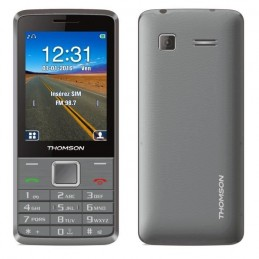 "THOMSON Tlink 28+ Silver GSM Ecran 2.8"" - 2MP"