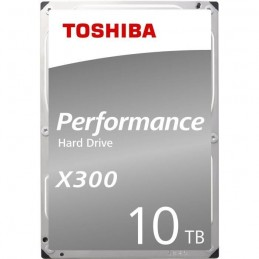 TOSHIBA 10To X300 HDD 3.5'' SATA 6Gbs 7200rpm - (HDWR11AEZSTA)