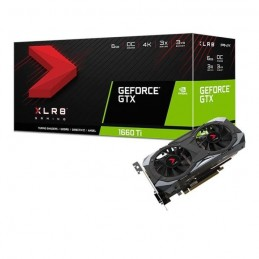 PNY GeForce GTX 1660 TI 6 Go XLR8 Gaming OC Limited Edition Carte graphique - vue emballage