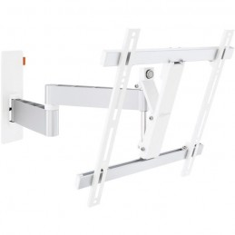 VOGEL'S WALL 3245 Blanc Support TV 32'' - 55'' orientable 180° et inclinable +/- 20° - 20kg max.