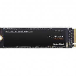 WESTERN DIGITAL 1To SSD WD Black SN750 M.2 NVMe (WDS100T3X0C-00SJG0) - vue de dessus