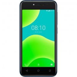 """WIKO Y50 Bleu 8 Go Smartphone 5"""" 5 Mp -Android 8 Oreo - vue de face"""