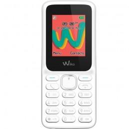 WIKO Lubi 5 Plus Blanc Téléphone mobile GSM Ecran LCD couleur - vue de face
