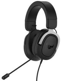 ASUS Casque TUF Gaming H3 Silver 7.1 - jack 3.5 mm