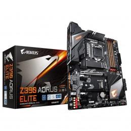 GIGABYTE Z390 AORUS ELITE Carte mere ATX Intel Z390 - Sockel 1151 - DDR4 - vue emballage