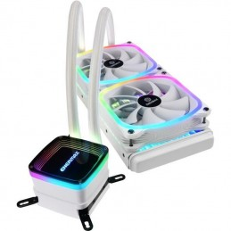 ENERMAX Aquafusion 240 RGB Blanc Watercooling CPU Ventilateur 2x 120mm