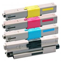 TR-C332PACK COMPATIBLE OKI C332 / MC363 NO-OEM PACK BK/C/M/Y TONER LASER