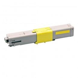 TR-C301Y COMPATIBLE OKI C301 / C321 NO-OEM 44973533 JAUNE TONER LASER