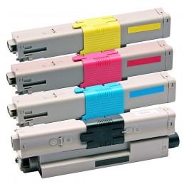 TR-C310PACK COMPATIBLE OKI C310 NO-OEM PACK BK/C/M/Y TONER LASER