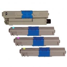 TR-C510PACK COMPATIBLE OKI C510 / C530 NO-OEM PACK BK/C/M/Y TONERS LASER