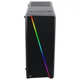 AEROCOOL Cylon Noir (RGB) Boitier PC Moyen Tour pour CM ATX avec Fenetre pleine