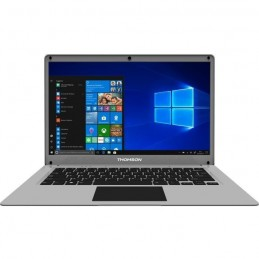 "THOMSON NEO14 N14C4SLO PC Portable 14"" - CELERON - RAM 4Go - SSD 64Go + 512 Go HDD - W10 - vue de face"