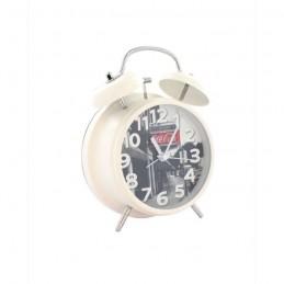 METRONIC 477530 Coca-Cola West street vintage Réveil avec Alarme mécanique