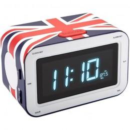 BIGBEN RR30CG Radio-réveil avec affichage LED - United Kingdom