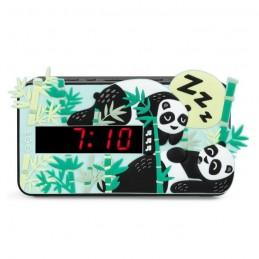BIGBEN R15PANDA3D Réveil - Decor Panda - Double alarme