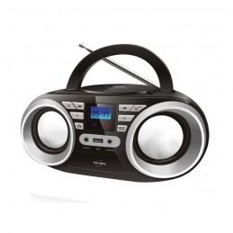 INOVALLEY R102/2 Boom box - 2x 5 W - CD / FM / MP3 - Ecran LCD - USB 2.0
