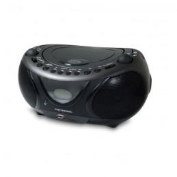 METRONIC Boombox 477135 Radio FM / CD / MP3 / Bluetooth - Noir