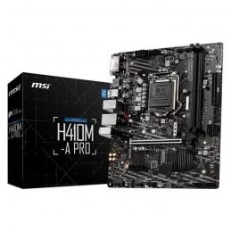 MSI H410M-A PRO Carte Mère micro ATX Socket 1200 - DDR4 - vue emballage