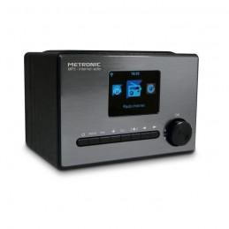 """METRONIC 477260 Radio connecté Ecran LCD 3.1"""" - Noir et gris"""