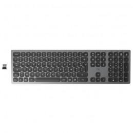 MOBILITY LAB ML311364 Clavier sans fil Ultra Slim finition métal - Gris Sidéral