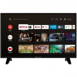 "CONTINENTAL EDISON Android Smart TV LED HD 32"" (80 cm) - WiFi - Bluetooth - HDMIx2 - USBx2 - Commande Vocale"