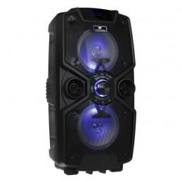 CONTINENTAL EDISON Enceinte Bluetooth - High Power Led avec Micro