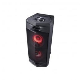 LG FJ5 Tour de son Bluetooth 220 W - Effets lumineux et vocaux - Fonctions DJ et Karaoké - vue de trois quart
