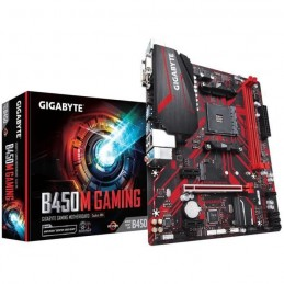GIGABYTE B450M Gaming Carte Mère micro-ATX Socket AM4 - DDR4 - vue emballage