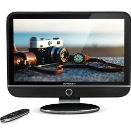 """SCHNEIDER FEELING'S LED32BK TV LED HD 32"""" (80cm) - Dolby Digital - E-LED - 3xHDMI - 1xUSB - Noir - vue de face"""