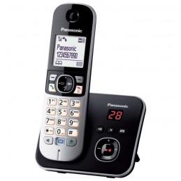 PANASONIC KX-TG6821 Téléphone Sans Fil avec Répondeur - Noir
