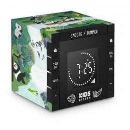 BIGBEN R70PPANDA Réveil KIDS - Décor Panda - Cube Projecteur