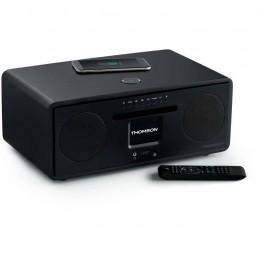 THOMSON MIC500IWF Micro Chaine HiFi - Bluetooth - Wifi - Radio - CD - MP3 - USB Noire + Induction