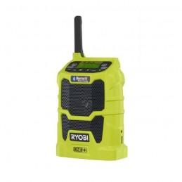 RYOBI R18R-0 Radio de chantier AM/FM One+ Bluetooth 18 V - Sans batterie
