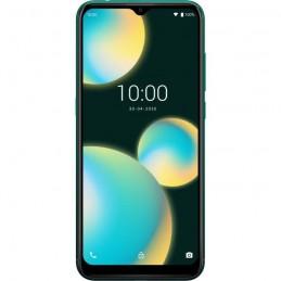 WIKO View 4 Lite LS Deep Green 4G Smartphone 6.52'' RAM 3Go - 32Go - 13Mp - Android 10 - vue de face