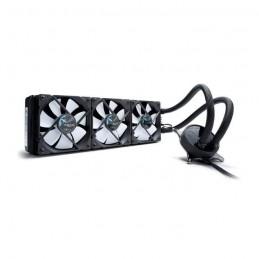FRACTAL DESIGN Celsius S36 PWM Noir Watercooling CPU 360mm Ventilateur 3x 120mm - vue lateral