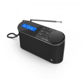 HAMA DR15 Radio Numérique FM/DAB/DAB+ - Alimentation par pile - 00054866