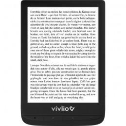 """VIVLIO Touch Lux 5 Noir Liseuse Numérique 6"""" - Stockage 8Go"""