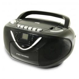 METRONIC 477131 Noir Radio CD / MP3 / Cassette
