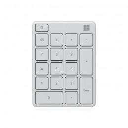 MICROSOFT Pavé numérique sans fil - Bluetooth 5.0 - Gris Glacier