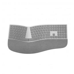 MICROSOFT Clavier Ergonomique Surface Sans fil - Bluetooth 4.0 - Gris Alcantara - AZERTY - vue de dessus